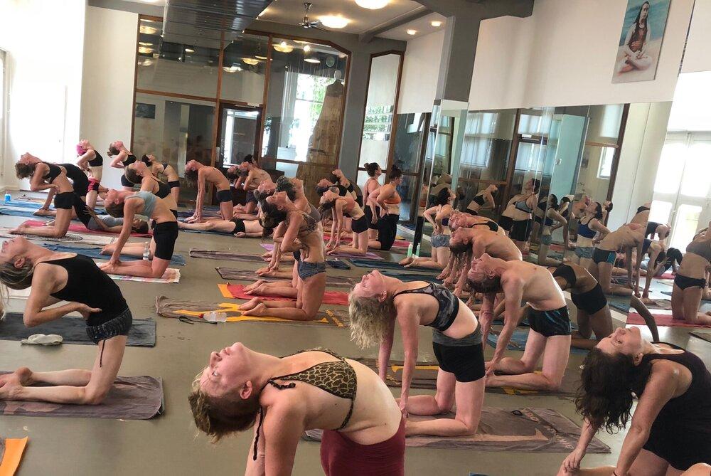 De yoga soort hot yoga bij Bikram yoga Amsterdam