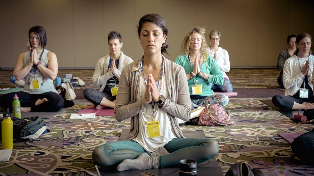 Een ontspannende soort yoga